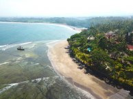 Puri Dajuma Eco Cottages: Yoga, Strand und Surfen