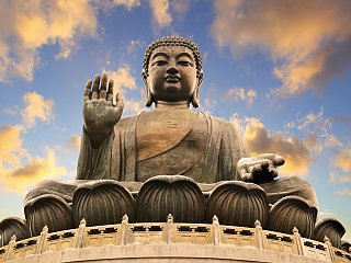 Buddha Statue in Hong Kong